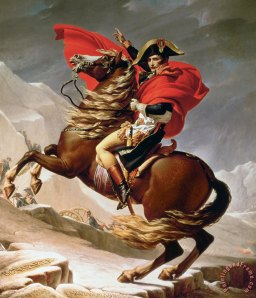 Napoleon by Jacques-Louis David