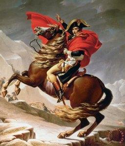 Napoleon by Jacques-Louis David