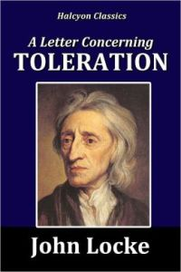 Locke A Letter Concerning Toleration