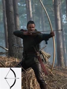 robbin hood with bow and arrow