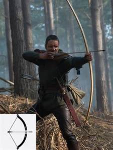 robbin hood with bow and arrow