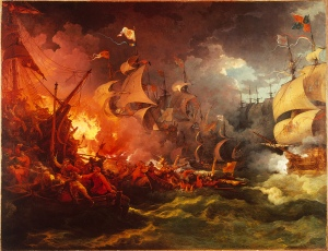 The Defeat of the Spanish Armada (1588)