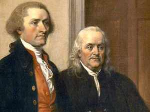 Thomas Jefferson & Benjamin Franklin