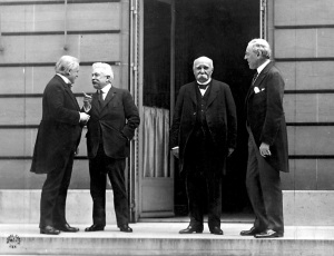 The Big Four at the Paris Peace Conference (1919)