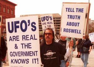 UFO conspiracy theories