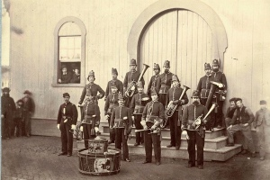 Band of the 10th Veteran Reserve Corps. Washington, D.C. April, 1865 -- Wikipedia