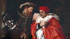Henry VIII and Cardinal Wolsey
