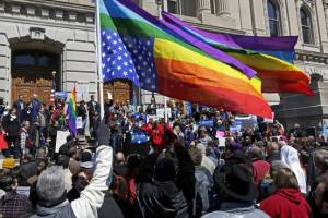 Indiana protests against RFRA 2015
