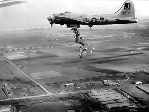 air drop to the Netherlands May 1945