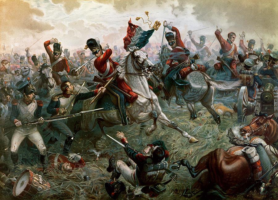 """History Battle of Waterloo """"battle of Waterloo"""" by"""