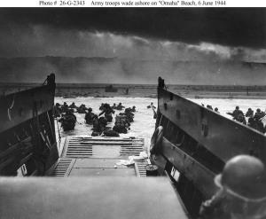 D-Day Normandy Beach