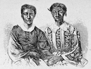 Eliza and Lizzie Scott, children of Dred Scott. Credit Image by Getty/MPI