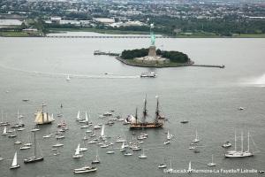la fayette's ship in NY