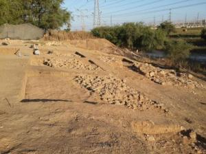 goliath excavation Israel 2015
