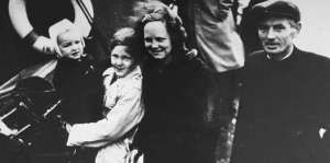 Jewish refugees rescued by Denmark