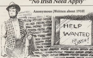 No help wanted Irish