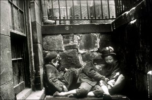how the other half lives riis children sleepin on the streets 1888